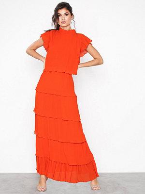 Y.a.s Yasuma Ankle Dress - Da Mörkorange