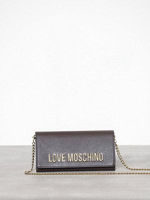 Love Moschino grå axelväska JC5594PP06KU0