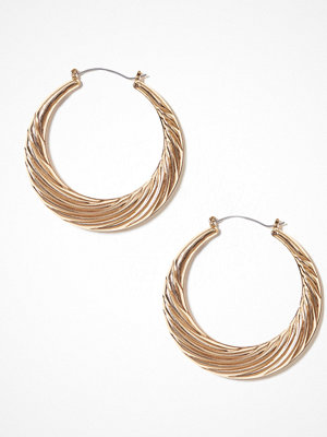NLY Accessories örhängen Thick Swirl Hoops Guld