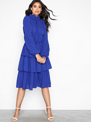 Aéryne Elton Solid Dress Royal Blue