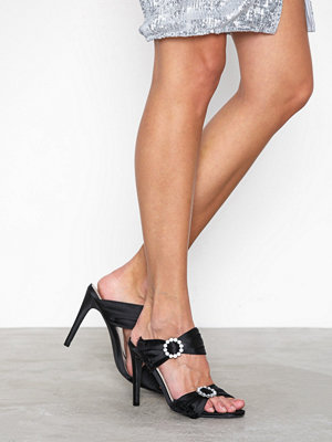Pumps & klackskor - NLY Shoes Diamond Heel Sandal Svart