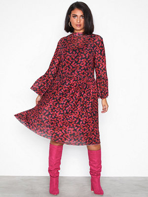 MOSS Copenhagen Kit Dress AOP Molten Lava