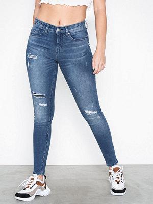 Only onlCARMEN Reg Sk Dnm Jeans SOO7018 Blå