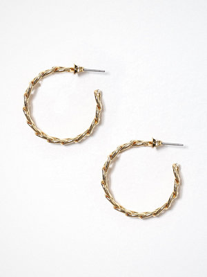 Pieces örhängen Pcotis Hoop Earrings D2D Guld