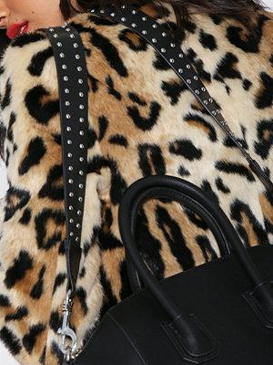NLY Accessories Studded Bag Strap Svart axelväska