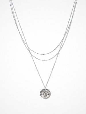 Pieces halsband Pcofelia Combi Necklace D2D Silver
