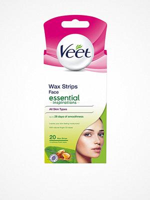 Hårborttagning - Veet Essential Strips Face 20st