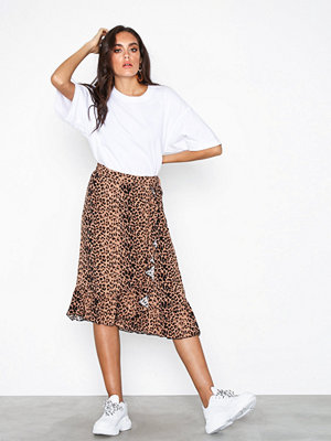 Vero Moda Vmleo N/W Wrap Skirt Exp Leopard