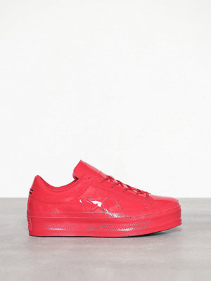 Converse One Star Platform Ox Cherry Red