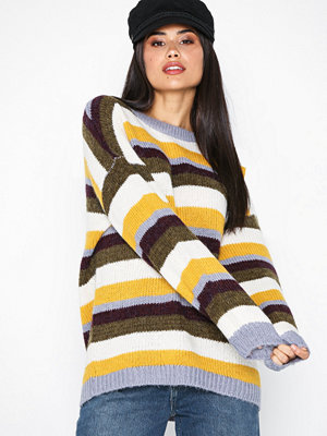 Topshop Multi Stripe Jumper