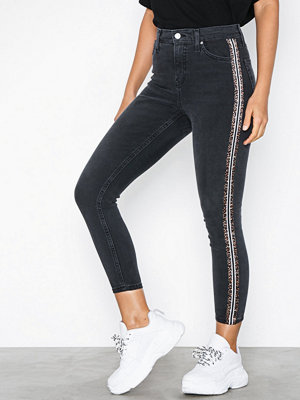 Topshop Leo Striped Jeans