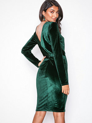 NLY Eve Twist Back Midi Dress