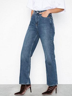 Topshop Mid Blue New Boyfriend Jeans Mid Blue