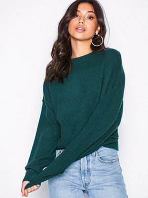 NLY Trend Sleeve Focus Knit Green
