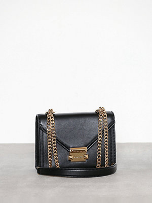 MICHAEL Michael Kors Whitney Small Shoulder Svart axelväska