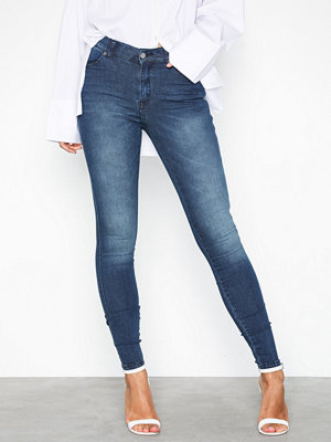 Jeans - Dr. Denim Lexy Worn Dark Blue