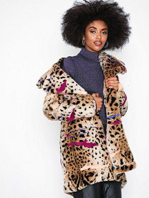 Fuskpälsjackor - Glamorous Cheetah Fur Coat