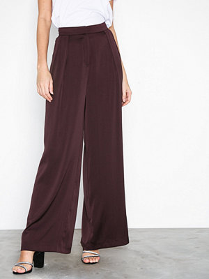 NLY Trend omönstrade byxor Perfect Satin Pants