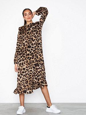 Pieces Pcmarine Ls Ankle Dress Jit Svart