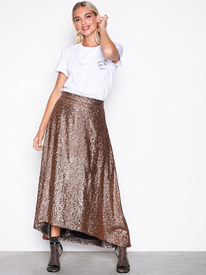 Gestuz Tito skirt Copper