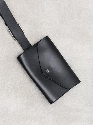 Calvin Klein svart axelväska 3CM Pouch Belt