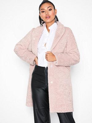 By Malina Pam faux fur coat Rose
