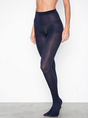 Strumpbyxor - Pieces Pcnew Nikoline 40 Den 2 Pack Tights Mörk Blå