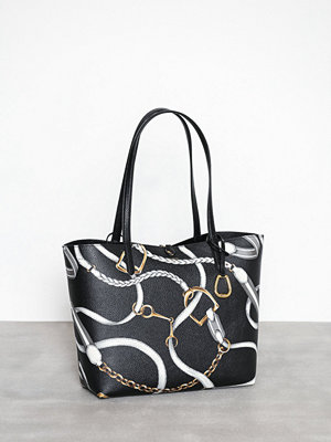 Handväskor - Lauren Ralph Lauren Rvrsble Tote-Tote-Medium Black