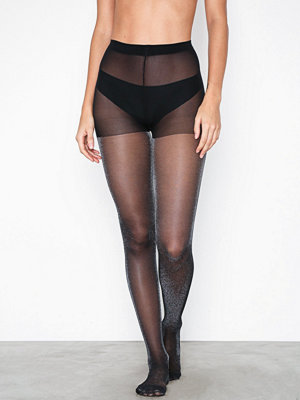 Pieces Pckimberley Glitter Tights Svart