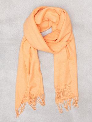 Samsøe & Samsøe Accola maxi scarf 2862 Papaya
