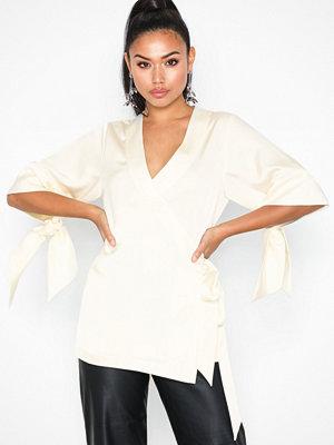 By Malina Corinne blouse White