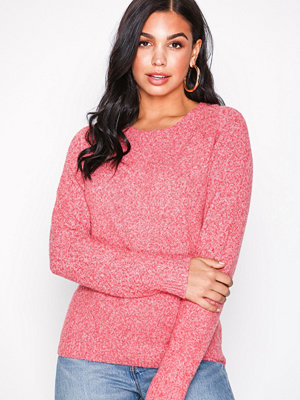 Vero Moda Vmdoffy Ls O-Neck Blouse Color Rosa
