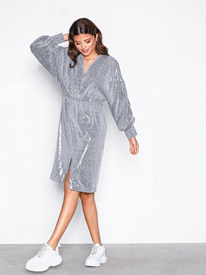 NORR Regine dress Silver