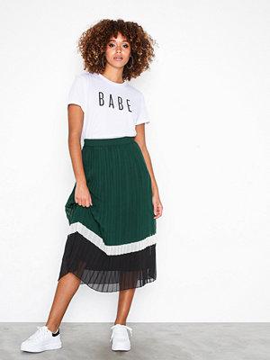 Vero Moda Vmyasmin N/W Pleat Skirt Exp Ponderosa Pine