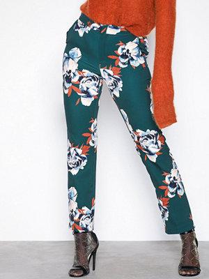 Gestuz byxor med tryck Fala pants Flowers