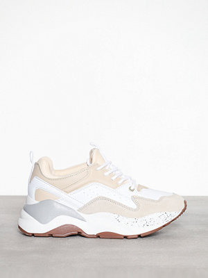 River Island Extreme Chunky Color Block Trainers Beige