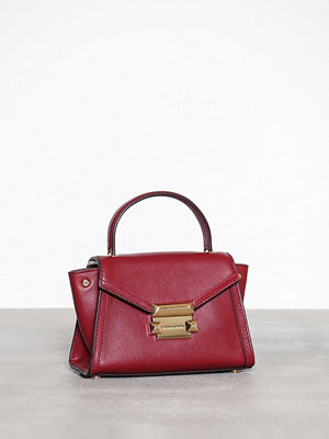MICHAEL Michael Kors Whitney Mini Messenger Maroon