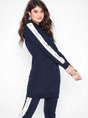 Gant O1. Gant Icon Sweat Hoddie Dress Blue