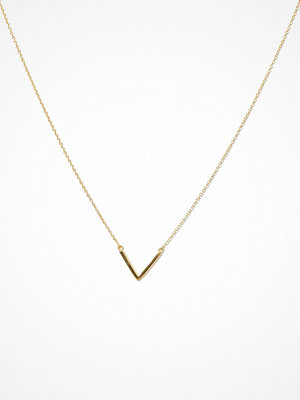 Syster P halsband Strict Plain V Necklace