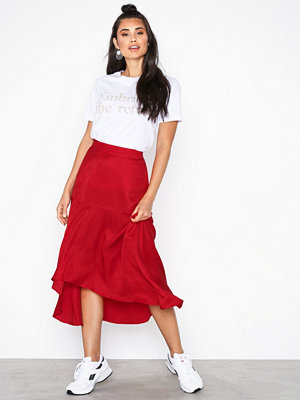 NORR Harper skirt Red