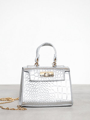 Missguided axelväska Wholesale Mini Bag Silver