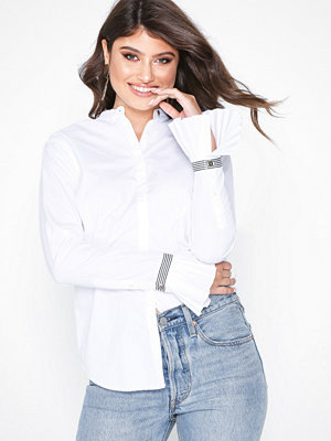 Lauren Ralph Lauren Altora-Long Sleeve-Shirt Vit