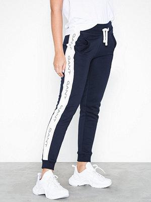 Gant byxor med tryck O1. Gant Icon Sweat Pants Blue