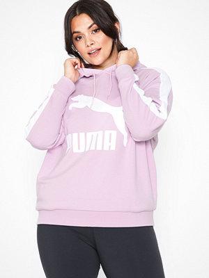 Sportkläder - Puma Classics Logo T7 Hoody Rosa