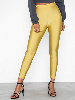 Leggings & tights - Ivyrevel Shiny Pants Gold