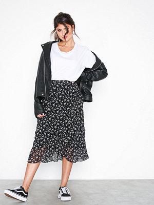 Vero Moda Vmminna Wrap Skirt Exp Svart