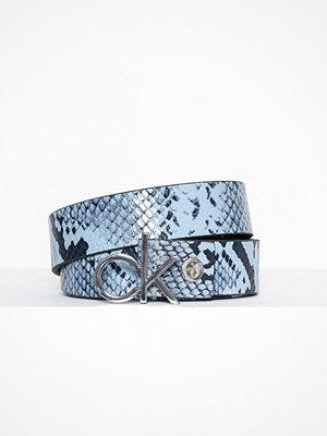 Calvin Klein 3CM Ck Adj.Buckle Belt Svart