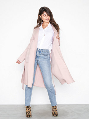 MICHAEL Michael Kors Db Wool Belted Coat Blush