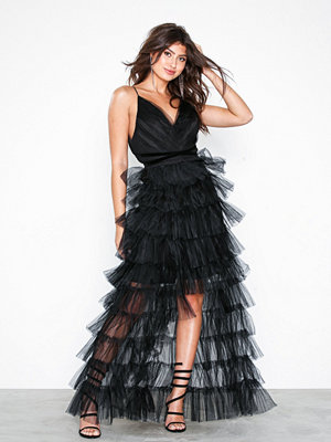 True Decadence Feather Strappy Dress
