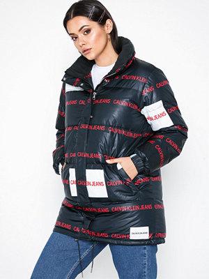Dunjackor - Calvin Klein Jeans Multi Logo Down Puffer